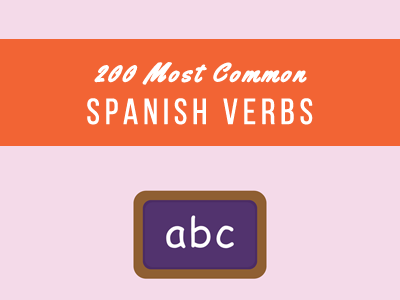 Common Spanish Verbs