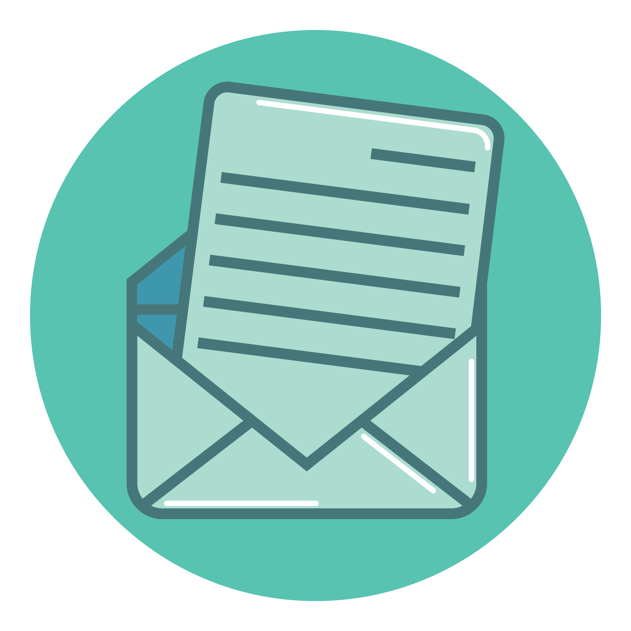 newsletter talk in french