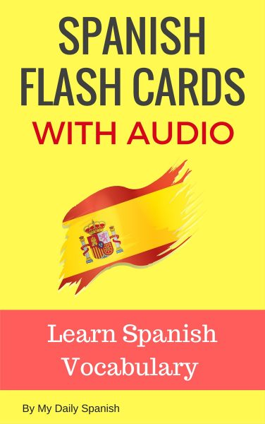 spanish flash cards with audio