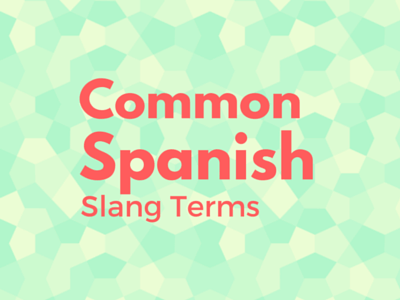 comme spanish slang terms