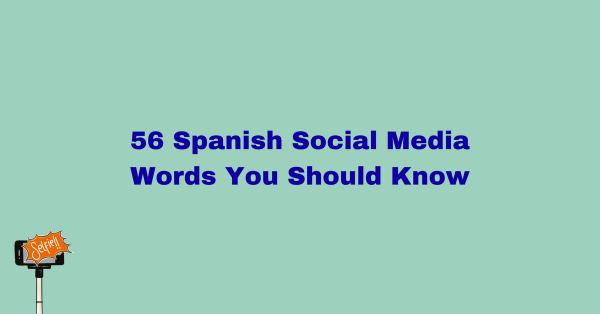 Spanish social media