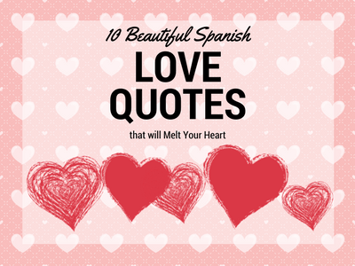 Beautiful Spanish Love Quotes