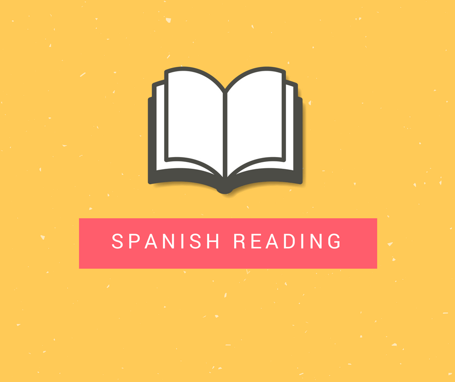 Reading in Spanish www.mydailyspanish.com
