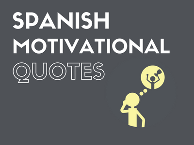 Spanish Motivational Quotes
