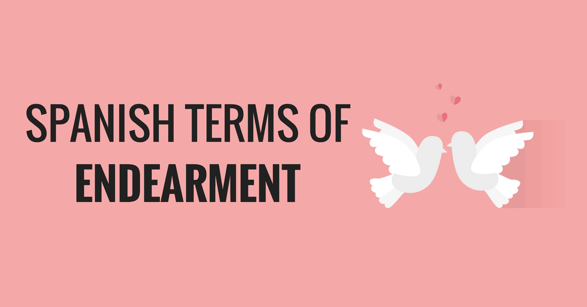 French terms of endearment for lovers