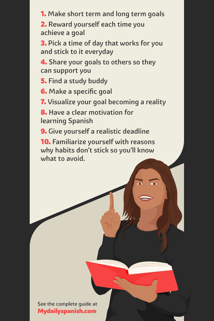 how to build a language learning habit