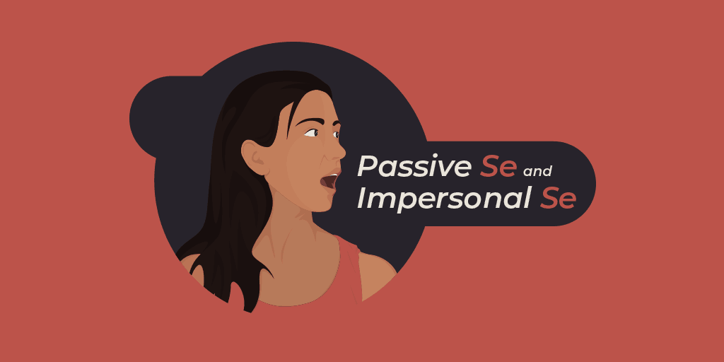 passive se and impersonal se