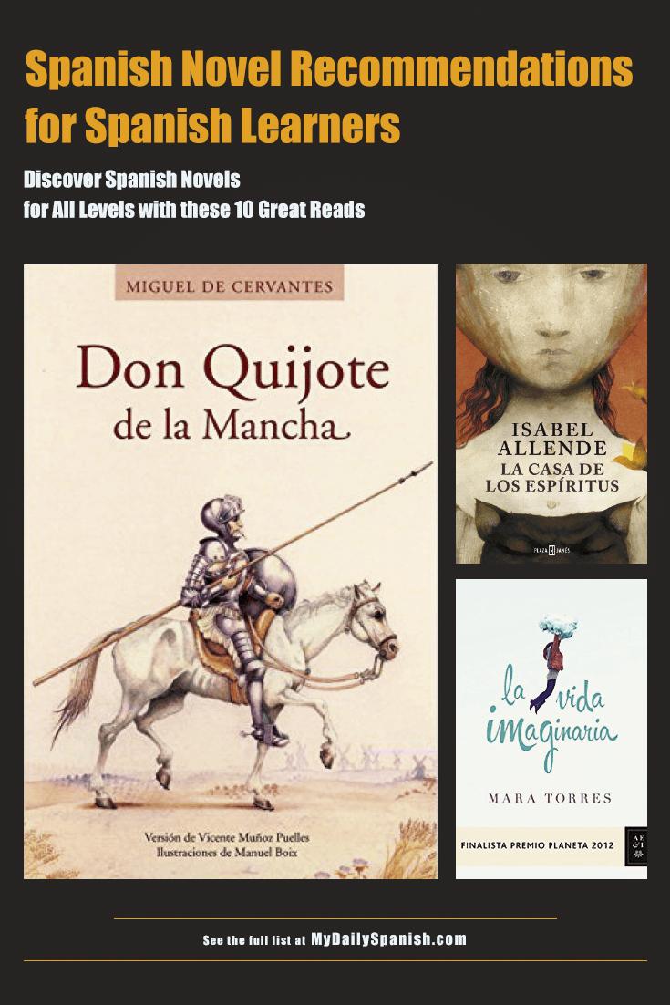 Spanish novel recommendations