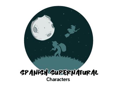 Spanish Supernatural Characters TH