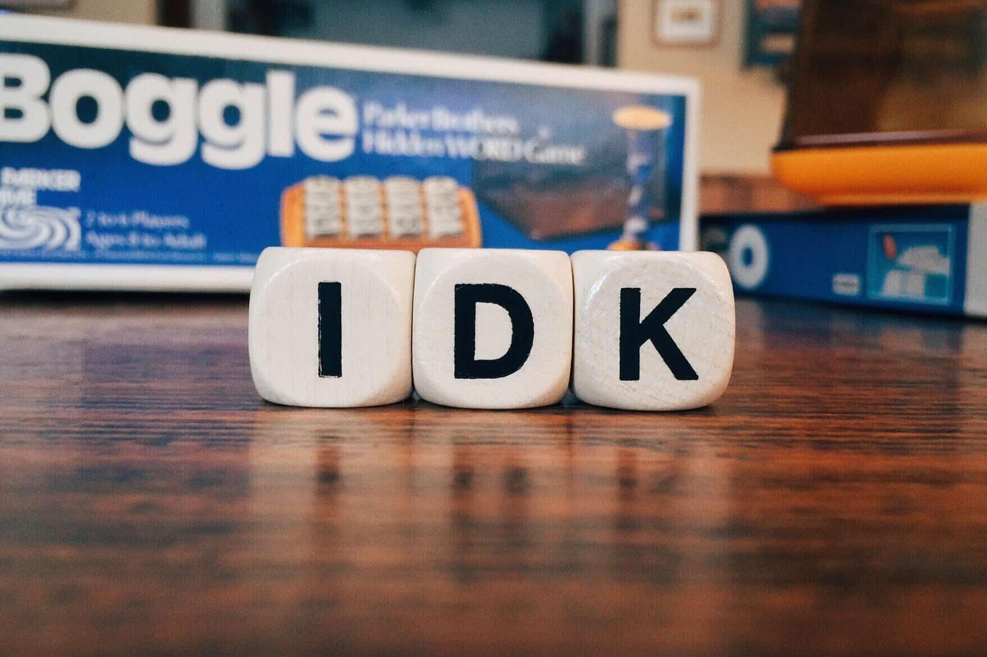 www.mydailyspanish.com Ni Puta Idea Not a Clue I Don't Know IDK
